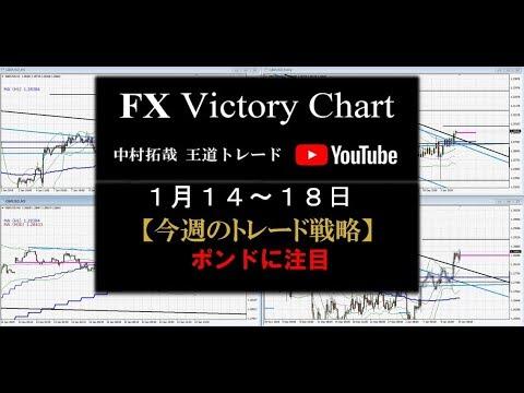 副業FX  ポンドに注目!【2019年 1月14日~18日  今週のトレード戦略公開】】